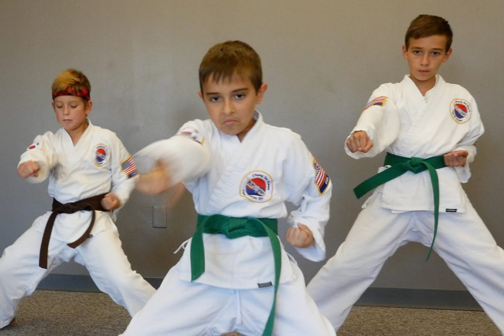 Overland Park Karate offers Karate Kids, a youth martial arts training program.