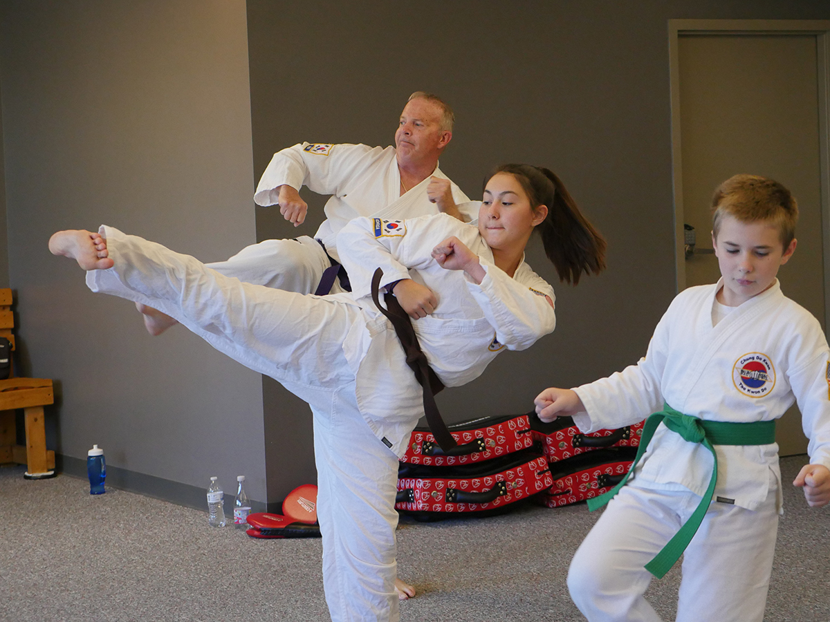 Try a free class and experience the benefits of martial arts training.